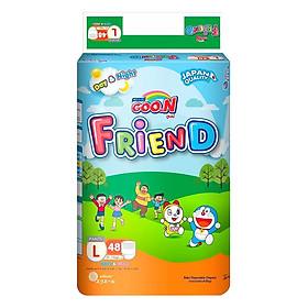 Tã Quần Goo.N Friend Gói Cực Đại L48 (48 Miếng) + Tặng Kèm 5 Miếng