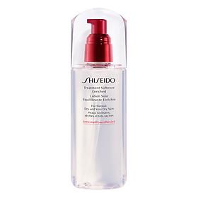 Nước Làm Mềm Da Dưỡng Ẩm Sâu Shiseido Treatment Softener Enriched (150ml) - 14532
