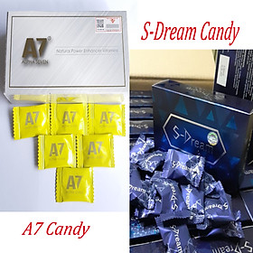 1 viên Kẹo Ngậm A7+ 10 viên Kẹo Sâm S-Dream