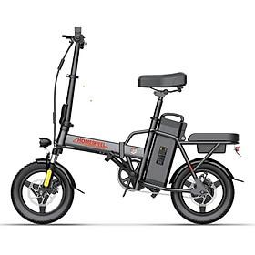 Xe điện thông minh thể thao siêu gấp gọn homesheel FTN T5s phiên bản 8 AH-hàng chính hãng-màu trắng