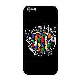 Ốp Lưng in cho Oppo A71 mẫu Rubik Toán Học - Hàng Chính Hãng