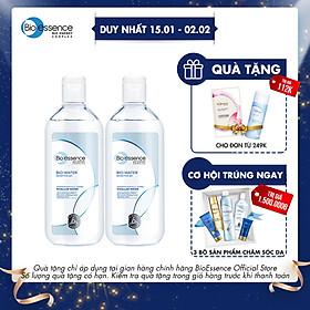 Combo 2 Nước tẩy trang ẩm mượt Bio-Essence Bio-Water 100ml/chai