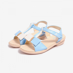 Giày Sandal Si PU Bé Gái Biti's DPB055600XDG - Xanh Dương