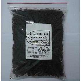Phân trùn quế hữu cơ dùng cho rau sạch và các loại hoa kiểng - 1kg - Phân trùn quế 100% nguyên chất, cung cấp dinh dưỡng, đối kháng bệnh hại, cải tạo đất trồng