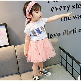 Biểu đồ lịch sử biến động giá bán IBV52 Size100-140 (11-30kg) Bộ váy đầm cho bé gái, kiểu dáng Hàn Quốc Freeship Hàng Quảng Châu Thời trang trẻ em