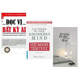 Combo Kỹ Năng Sống Đẹp: Đọc Vị Bất Kỳ Ai + Lối Sống Tối Giản Của Người Nhật + Sức Mạnh Tiềm Thức (Bộ 3 Cuốn Đem Lại Thành Công Và Hạnh Phúc Cho Chính Bản Thân Bạn / Tặng Kèm Bookmark Happy Life)