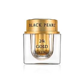 Kem Dưỡng Mắt Vàng 24K Black Pearl Phù Hợp Mọi Loại Da - Black Pear 24k Gold Eye Elixir -  Có Nguồn Gốc Từ Biển Chết - Xuất Xứ Israel - Dành Cho Làn Da Nhạy Cảm Của Vùng Mắt