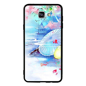 Hình đại diện sản phẩm Ốp lưng viền TPU cho điện thoại Samsung Galaxy A9 Pro - Diên Hi Công Lược Mẫu 7