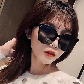 Kính mát nam và nữ Tisselly K04 thời trang nữ 2021- kính râm mặt lớn Hàn Quốc - Gọng và tròng nhựa dẻo cao cấp