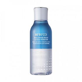 Nước tẩy trang vùng mắt môi BEBECO Real waterproof lip & eye