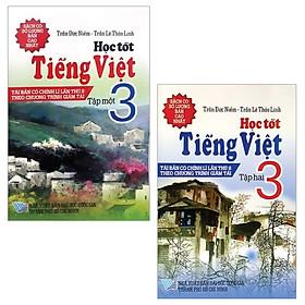 Combo Học Tốt Tiếng Việt 3: Tập 1 + 2 (Bộ 2 Tập)