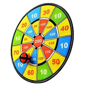 ENPEX sticky ball dart board parent-child baby sports toys boys and girls flannel sucker dart target 2 set-5