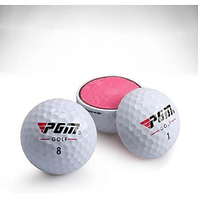 Bóng Chơi Golf Lõi Kép - Durable Golf Ball with Three Layer - PGM Q017 (1 hộp / 3 quả)