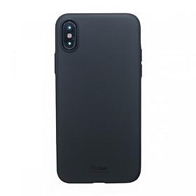 Ốp Lưng Dẻo iPhone Xs Max Vucase Lovely Fruit (Đen)  - Hàng nhập khẩu