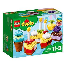 Bữa Tiệc Sinh Nhật Đầu Tiên LEGO Duplo 10862 (41 Chi Tiết)