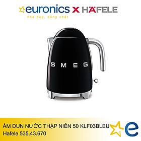ẤM ĐUN NƯỚC THẬP NIÊN 50 Smeg KLF03BLEU/535.43.670- Hàng chính hãng ( Được phân phối bởi Hafele)