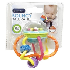 Lục lạc Lucky Baby - BOUNCY BALL RATTLE 610350