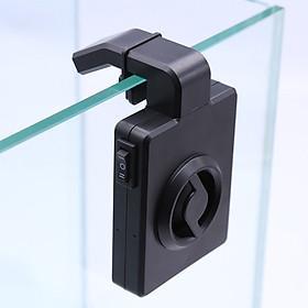 Mini nano cooling fan hang on clip USB charge aquarium temperature reduce