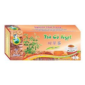 Trà Cỏ Ngọt Cho Người Tiểu Đường (Hộp 50 Túi Lọc X 2g)- Nguyên Thái Trang – Thảo Dược Thiên Nhiên – Tốt Cho Sức Khỏe
