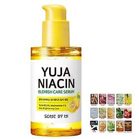 Tinh Chất Dưỡng Trắng Da Chiết Xuất Quả Thanh Yên Some By Mi Yuja Niacin 30 Days Blemish Care Serum 50ml [ Được Mask 3W Clinic ]-1