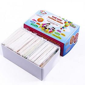 Bộ thẻ học gồm 16 chủ đề 416 thẻ thông minh cho bé theo phương pháp giáo dục sớm - Tặng kèm 01 khuôn ép cơm, làm bánh hình con vật siêu ngộ nghĩnh