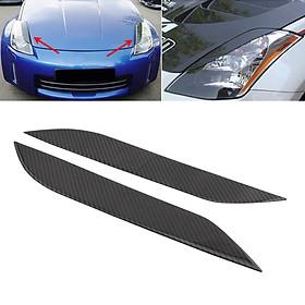 Universal Car Front Bumper Lip Splitter Fins Body Spoiler Decor Fits Nissan