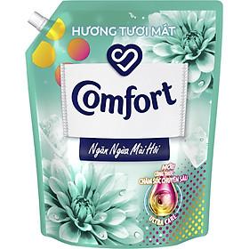 Nước Xả Làm Mềm Vải Comfort Chăm Sóc Chuyên Sâu Ngăn Ngừa Mùi Hôi Hương Tươi Mát túi 3.8L