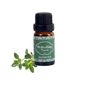 Tinh Dầu Cỏ Xạ Hương - Thyme Essential Oil 10ml - Hoa Thơm Cỏ Lạ