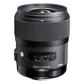 Ống Kính Sigma 35 F/1.4 DG HSM Art For Nikon - Hàng Chính Hãng