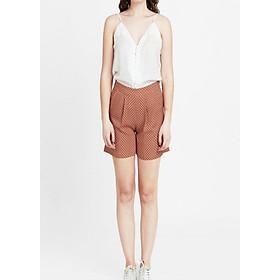 Quần Shorts Nữ Chấm Bi The Cosmo Viscose Shorts