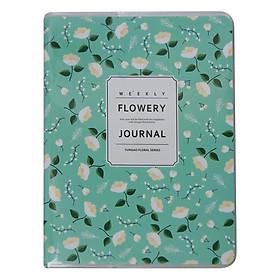 Sổ Tay Weekly Planner Ghi Chú Quản Lí Kế Hoạch Hiệu Quả - Flowery 3