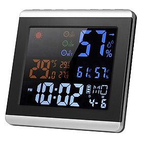 Nhiệt Kế LCD Kỹ Thuật Số Dùng Đo Nhiệt Độ/Độ Ẩm (169 x 163 x 25mm)