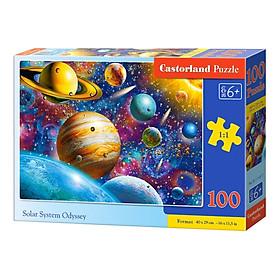 Xếp hình puzzle Solar System Odyssey 100 mảnh CASTORLAND B0111077