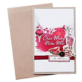 Thiệp Nhỏ Fairy Corner Chúc Mừng Năm Mới - GC10RE30