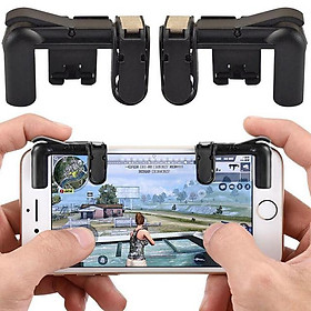 Bộ 2 Nút Bấm Hỗ Trợ Chơi Game PUBG Mobile, Ros Mobile Siêu Mượt - NEW