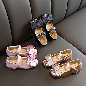 Giày búp bê đính nơ cho bé gái từ 2 -13 tuổi