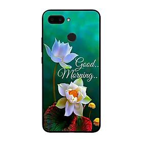 Ốp lưng dành cho điện thoại Xiaomi Redmi 6 in họa tiết Good morning
