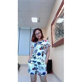 Bộ mặc nhà cotton ms006