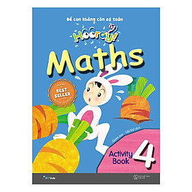 Hooray Math – Để Con Không Còn Sợ Toán (Activity Book 4)