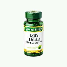 Viên Uống Giải Độc, Bảo Vệ Gan Silymarin Milk Thistle Nature's Bounty - 50 Viên