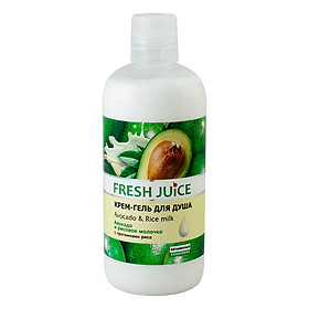 Sữa Tắm Hương Bơ Và Gạo Fresh Juice (500ml)