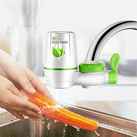 Bộ lọc nước tinh khiết gắn đầu vòi rửa bát, vòi rửa mặt vô cùng tiện lợi và hữu ích