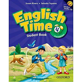 English Time 4 Student Book and Audio CD 2Ed