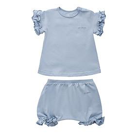 Sét 5 màu Áo Tay Bèo dành cho bé gái, Thương hiệu LECOON