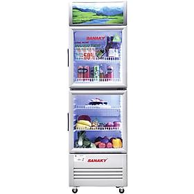 Tủ Mát Inverter Sanaky VH-408W3L (340L) - Hàng Chính Hãng - Chỉ giao tại HCM