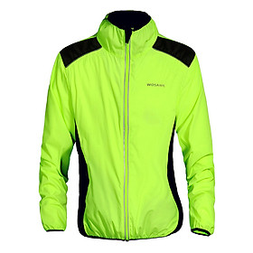 WOSAWE Cycling Jersey Riding Breathable Jacket Cycle Clothing Bike Long Sleeve Wind Coat