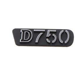 Replacement For Nikon D750 Nameplate SLR Camera Label Number