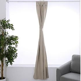 Rèm cửa trang trí chống nắng chống gió đa năng CasaBella - màu kaki 132x213cm