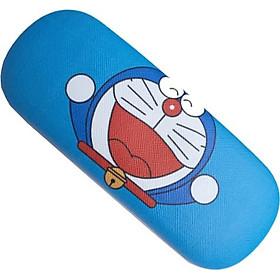 Hộp Đựng Kính Mắt Doraemon ( Kèm Khăn Lau Kính)
