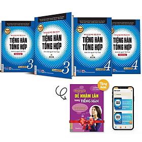 Combo Sách Tiếng Hàn Tổng Hợp Dành Cho Người Việt Nam - Trung Cấp 3&4 - Phiên Bản Mới Đen Trắng (Tặng Kèm Cuốn Những Từ Dễ Nhầm Lẫn Trong Tiếng Hàn)